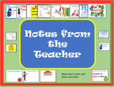 Notes From the Teacher: Middle School - High School