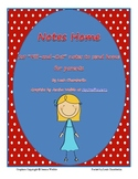 Notes Home: Parent Communication Notices
