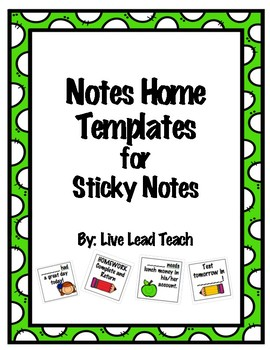 Notes Home for Sticky Notes