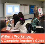 Notes & Info. for the Course: Writer's Workshop: A Complete Teacher's Guide