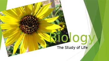 Introduction to Biology: Presentation and Notes