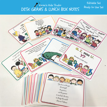 Notes LUNCH BOX NOTES