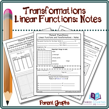Notes: Linear Function Transformations