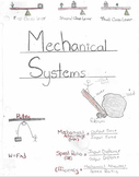 Foldable: Notes on Mechanical Systems (Gr. 8)