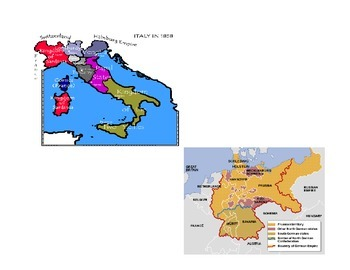 Nationalism in Italy and Germany (Notes)