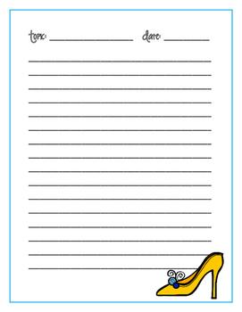Notes Paper Fillables