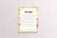 Printable To Do List - Colorful Marble Texture