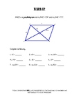 Geometry Notes (Quadrilaterals) - Special Parallelograms