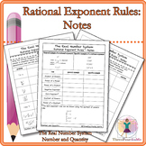 Rational Exponent Rules: Notes