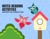 Notes Reading Activities - Master the Treble Clef