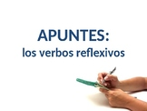 Notes - Reflexive Verbs PowerPoint - Spanish - Apuntes - L