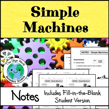 Notes - Simple Machines