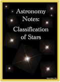 Notes: Star Classification