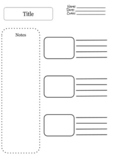 Notes Template x3