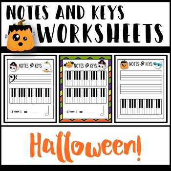 Notes and Keys Worksheets