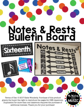 Notes and Rests Bulletin Board