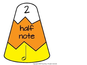 Notes and Rests Candy Corn Puzzles