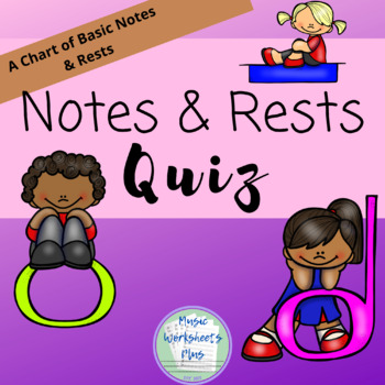 Notes and Rests Quiz