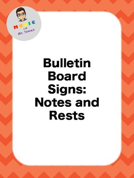 Notes and Rests Signs