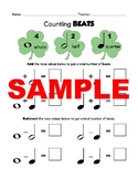 Notes and Rests Worksheets
