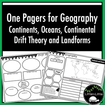 Notes for Continents, Oceans, Continental Drift and Landforms