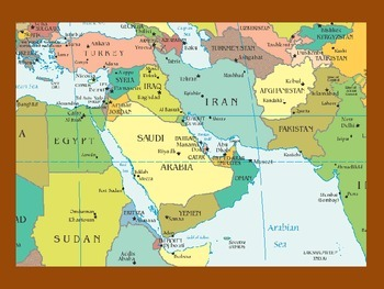 Notes for Middle East Unit (Geography or History)