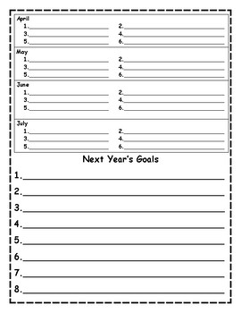 Notes for Next Year- build a planner series