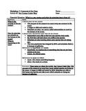 "Notes for ""Sea Census Under Way"" Article (Read 180 FLEX Workshop 7)"