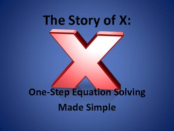 Notes for Solving One Step Equations