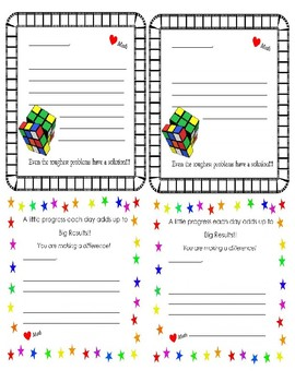 Notes for a Growth Mindset in Math