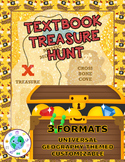 Geography Textbook Treasure Hunt...Scavenger Hunt
