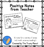 Notes from Teacher - Set of 16 incl. math, science, readin