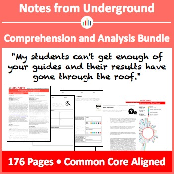 Notes from Underground – Comprehension and Analysis Bundle