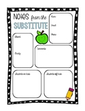 Notes from the Substitute