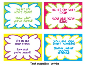 photo relating to Encouraging Notes for Students During Testing Printable identified as Notes of Encouragement for Try out Takers FREEBIE