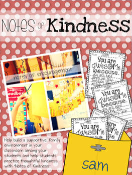 Notes of Kindness: A Character Building Activity