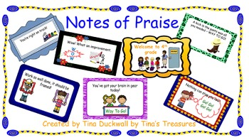 Notes of Praise