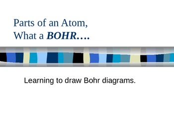 Notes on Bohr Diagrams