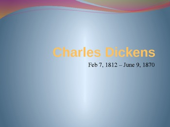 Notes on Charles Dickens & Christmas Carol