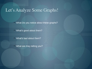 Notes on Graphs and Math in Science