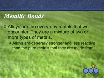 Notes on Metallic Bonds