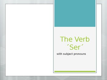 Notes on Ser Power Point