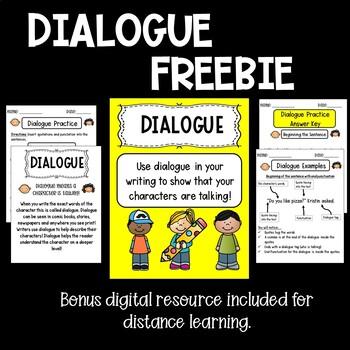 Dialogue notes feebie!