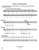 Notes on the Bass Clef WS11