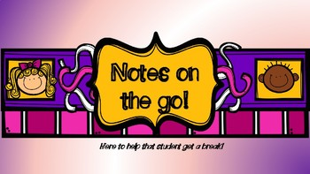 Notes on the Go!