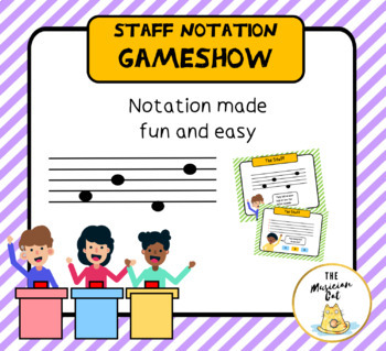 Staff Notation: Notes on the Staff Made Fun and Easy
