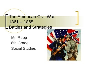 Notes on the U.S. Civil War