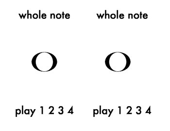 Notes to Play: Montessori Three Part Music Cards