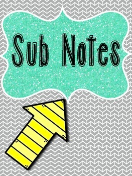 Notes to and from the Sub