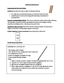 Notes to text structure